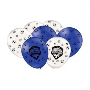 Balão Nº9 Especial Apaixonados Por Futebol c/25 - Festcolor