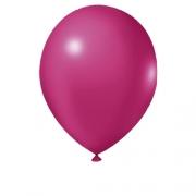 Balão Nº9 Fucsia c/30 - Happy Day
