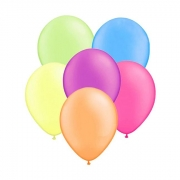 Balão Nº9 Neon Sortido c/30 - Happy Day