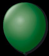 Balão Nº9 Verde Bandeira c/30 - Happy Day