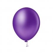 Balão Nº9 Violeta c/30 - Happy Day