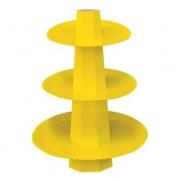 Baleiro Suporte para Doces Amarelo - Ultrafest