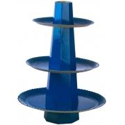 Baleiro Suporte para Doces Azul Escuro - Ultrafest