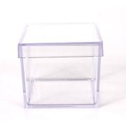 Caixa Acrílica Transparente 4x4cm c/10 - Mirandinha