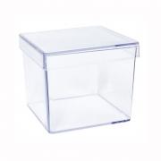 Caixa Acrílica Transparente 5x5cm c/10 - Mirandinha