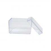 Caixa Acrílica Transparente 7x7cm c/10 - Mirandinha