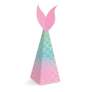 Caixa Mini Cone Festa Sereia c/8 - Cromus