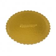 Cake Board Nº24 Dourado - Curifest