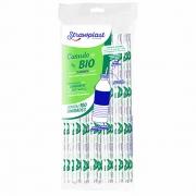 Canudo Bio Garrafa Sache c/100 - Strawplast