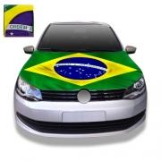 Capa Para Capô De Carro Bandeira do Brasil