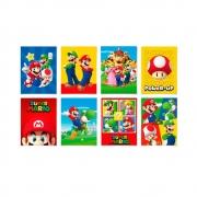Cartaz Decorativo Super Mario c/8 - Cromus