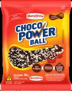 Cereal Crocante Choco Power Ball 500g - Mavalério