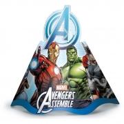 Chapéu de Aniversário Avengers c/12 - Regina