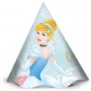 Chapéu de Aniversário Cinderela c/12 - Regina