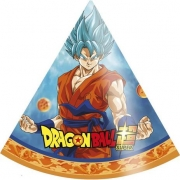 Chapéu de Aniversário Dragon Ball c/8 - Festcolor
