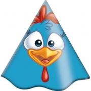 Chapéu de Aniversário Galinha Pintadinha c/8 - Festcolor