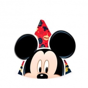 Chapéu de Aniversário Mickey c/12 - Regina