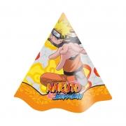 Chapéu de Aniversário Naruto c/8 - Festcolor