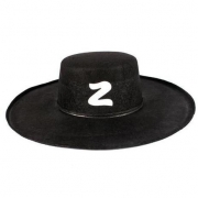 Chapéu Zorro Preto