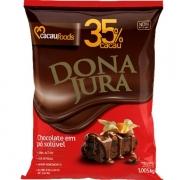 Chocolate em Pó Solúvel 35% Cacau 1,005kg - Dona Jura