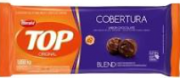 Chocolate top blend cobertura fracionada harald barra 1,050kg