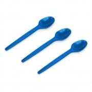 Colher Sobremesa Azul Escuro c/50 - Kaixote