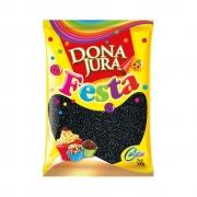 Confeito Miçanga Crocante Preta Dona 500g - Dona Jura