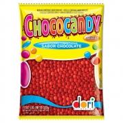 Confeitos de Chocolate Chococandy Vermelho 350g - Dori