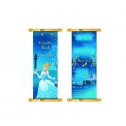 Convite Aniversário Cinderela c/8 - Regina