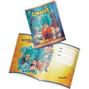 Convite Aniversário Dragon Ball c/8 - Festcolor