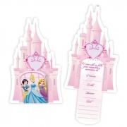 Convite Aniversário Princesas c/8 - Regina