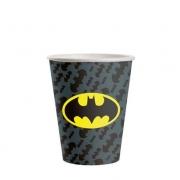 Copo de Papel Batman Geek 200ml c/8 - Festcolor