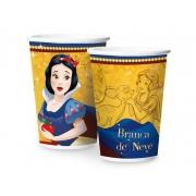 Copo de Papel Branca De Neve 180ml c/8 - Regina