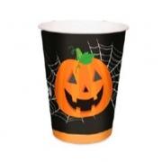Copo de Papel Noite Do Terror Halloween 240ml c/8 - Cromus