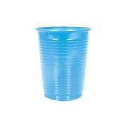 Copo Descartável Azul Claro 200ml c/50 - Kaixote