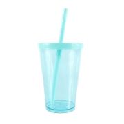 Copo Happy PS Azul Tiffany 350ml - Neoplas