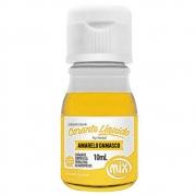 Corante Líquido Amarelo Damasco 10ml - Mix