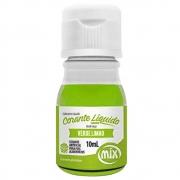 Corante Líquido Verde Limão 10ml - Mix