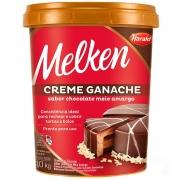 Creme Ganache De Chocolate Meio Amargo 1kg - Melken Harald