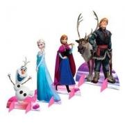 Decoração de Mesa Frozen c/8 - Regina