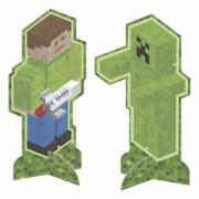Decoração de Mesa Mini Pixels c/8 - Junco