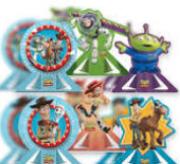 Decoração de Mesa Toy Story c/6 - Regina