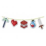 Faixa Decorativa Mini Pixels - Junco