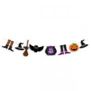 Faixa Decorativa Noite do Terror Halloween - Cromus