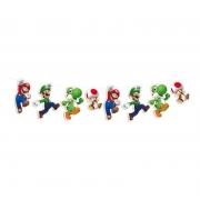 Faixa Decorativa Super Mario - Cromus