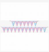 Faixa Feliz Aniversário Chuva De Amor - Festcolor