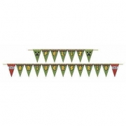 Faixa Feliz Aniversário Mini Pixels - Junco