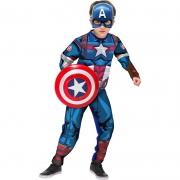 Fantasia Capitão América P - Rubies