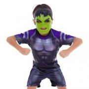 Fantasia Hulk Ultimato Curta M - Regina