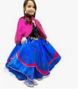 Fantasia Infantil Anna Frozen M - Rubies